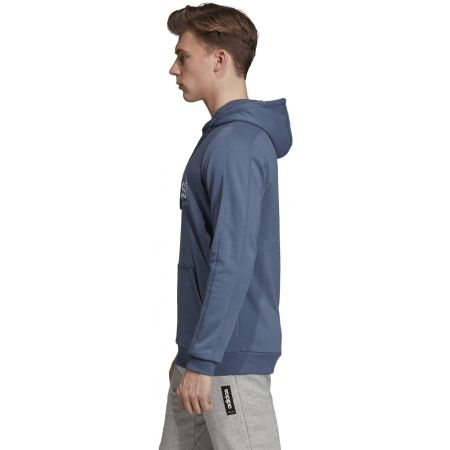 Men's hoodie - adidas BB HDY FRENCH TERRY - 6