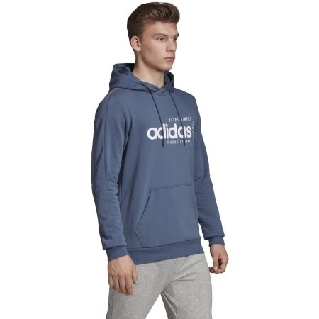 Men's hoodie - adidas BB HDY FRENCH TERRY - 5