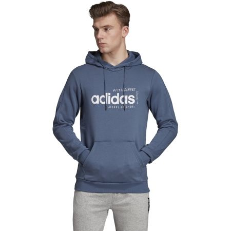 Men's hoodie - adidas BB HDY FRENCH TERRY - 4