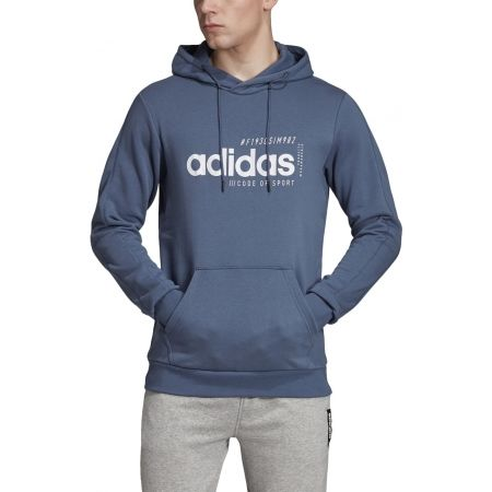Men's hoodie - adidas BB HDY FRENCH TERRY - 3