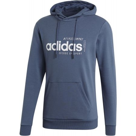 Men's hoodie - adidas BB HDY FRENCH TERRY - 1