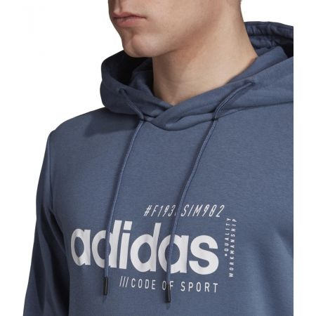 Men's hoodie - adidas BB HDY FRENCH TERRY - 8