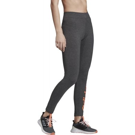 Women's leggings - adidas E LIN TIGHT DENIM - 4