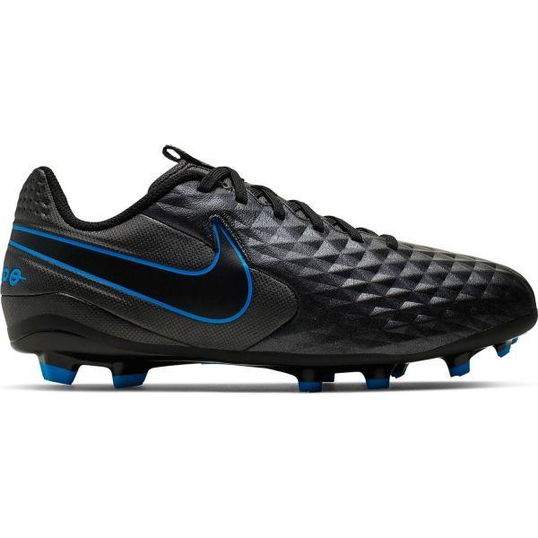 Nike JR TIEMPO LEGEND 8 ACADEMY FG/MG černá 1.5 - Dětské kopačky