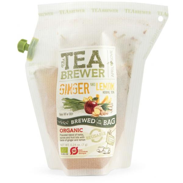 Grower's Cup CAJ GINGER,LEMON - Cestovný bylinný čaj