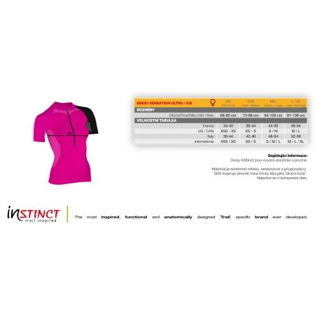 Dámský běžecký dres - Instinct ULTRA SENSATION - 2
