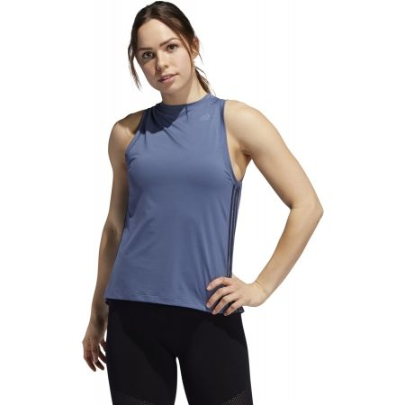 Women's tank top - adidas 3S LOOSE TANK - 4