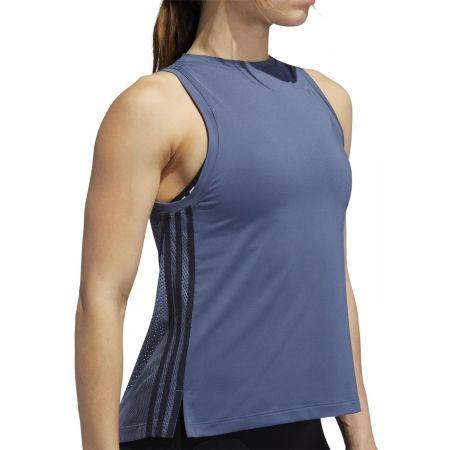 Women's tank top - adidas 3S LOOSE TANK - 8