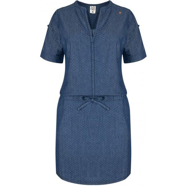Loap NIVA modrá Dámske šaty XS LOAP