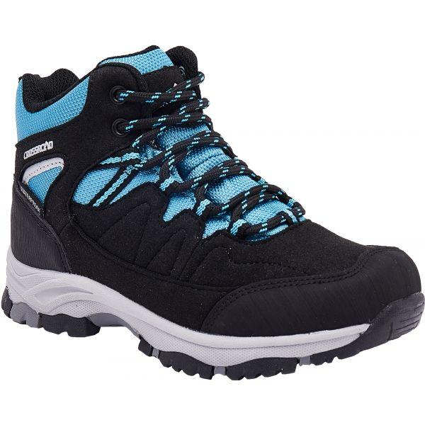 Crossroad DISCO modrá 33 - Dětská treková obuv