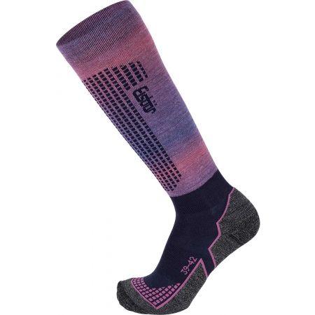 Dámske lyžiarske ponožky - Eisbär SKI W TECH LIGHT DX + SX