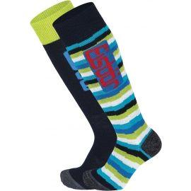 Eisbär COMFORT 2 PACK JR - Children's ski socks