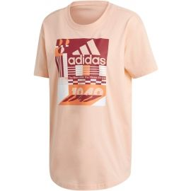 adidas MH GRAPHIC T - Дамска тениска