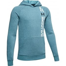 Under Armour RIVAL WORDMARK HOODY - Bluza chłopięca
