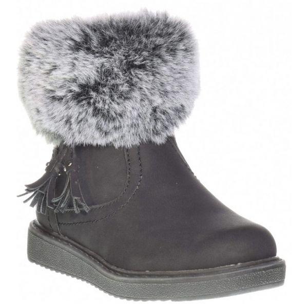 Junior League AGNETA čierna 32 - Detská zimná obuv