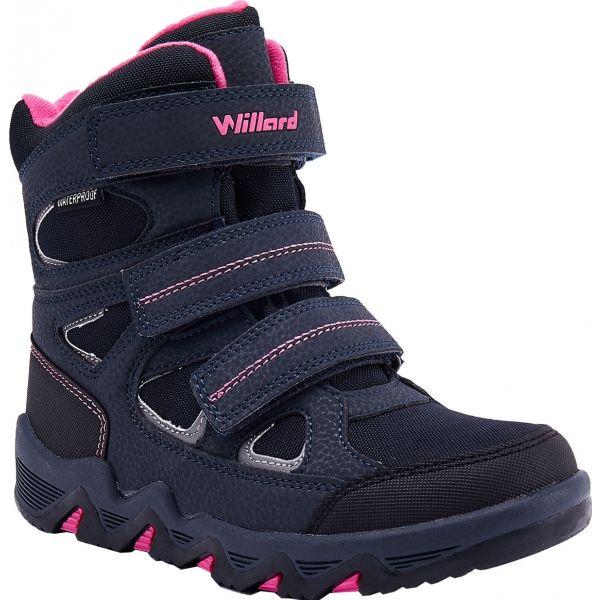 Willard CANADA HIGH ružová 32 - Detská zimná obuv