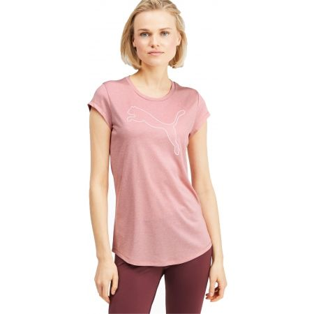 Tricou damă - Puma ACTIVE LOGO HEATHER TEE - 3