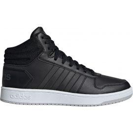adidas HOOPS 2.0 MID - Pánska voľnočasová obuv