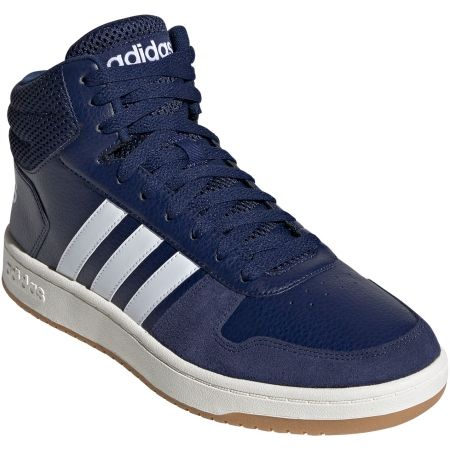 Pánska voľnočasová obuv - adidas HOOPS 2.0 MID - 2