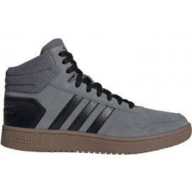 adidas HOOPS 2.0 MID - Pánska členková obuv