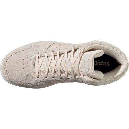 Dámska vychádzková obuv - adidas HOOPS 2.0 MID W - 4
