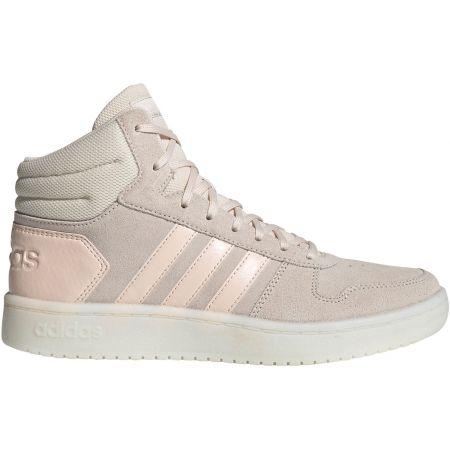 Dámska vychádzková obuv - adidas HOOPS 2.0 MID W - 1