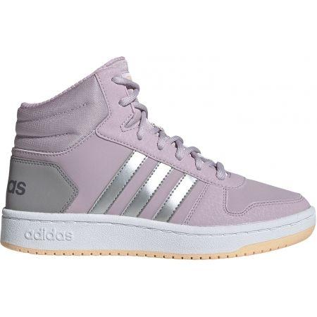 Detská voľnočasová obuv - adidas HOOPS MID 2.0 K - 1
