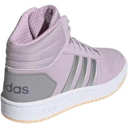 Detská voľnočasová obuv - adidas HOOPS MID 2.0 K - 3