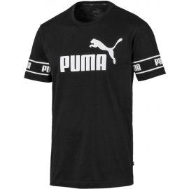 Puma AMPLIFIED BIG LOGO TEE - Pánské moderní triko