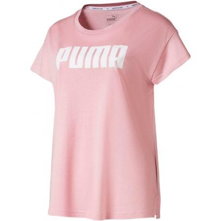 Dámske športové tričko - Puma ACTIVE LOGO TEE - 1