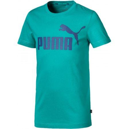 Chlapčenské tričko - Puma ESS LOGO TEE B - 1
