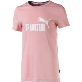 Puma AMPLIFIED TEE G - Koszulka sportowa dziewczęca