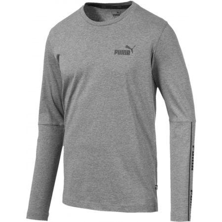 Puma AMPLIFIED LS TEE - Pánske tričko