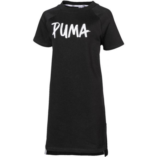 Puma ALPHA DRESS FL G fekete 152 - Lányos ruha