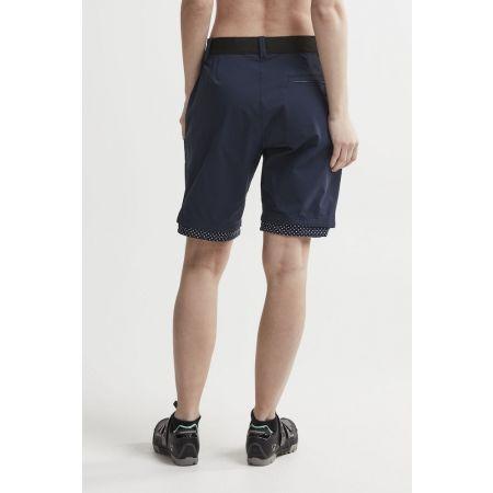 Pantaloni scurți ciclism damă - Craft RIDE HABIT - 3