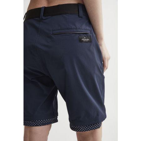 Pantaloni scurți ciclism damă - Craft RIDE HABIT - 4
