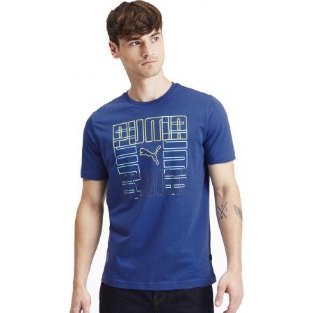 Pánske tričko - Puma PUMA BRAND GRAPHIC - 3