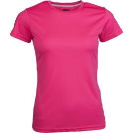 Kensis VINNI NEON YELLOW - Dámske športové tričko