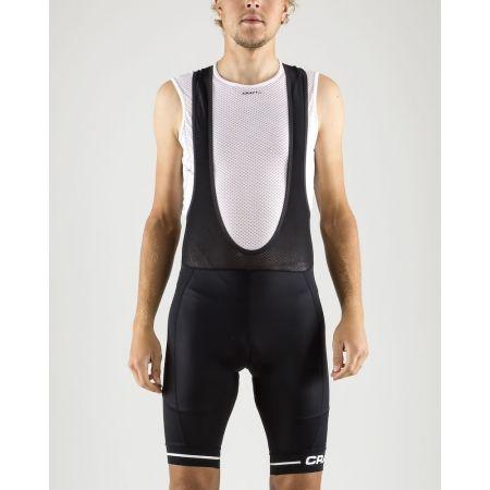 Pantaloni ciclism bărbați - Craft RISE BIB - 2