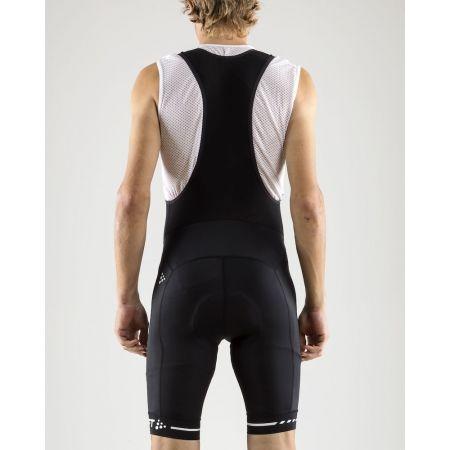 Pantaloni ciclism bărbați - Craft RISE BIB - 4