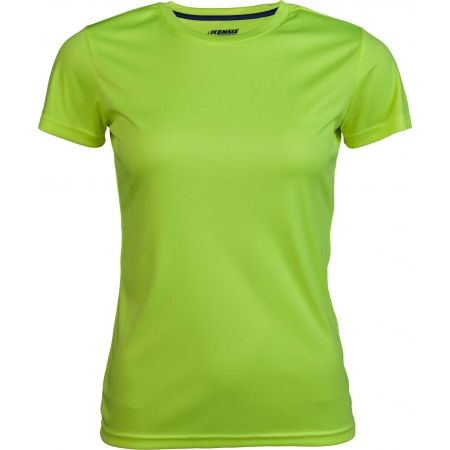 Kensis VINNI NEON YELLOW - Women's sports T-shirt