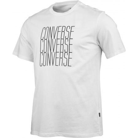 Pánské tričko - Converse LOGO REMIX TEE - 2