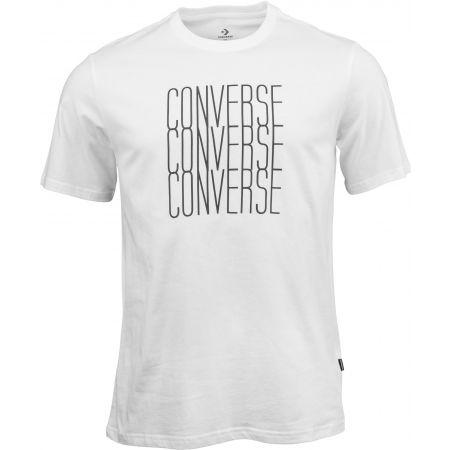 Converse LOGO REMIX TEE - Pánské tričko