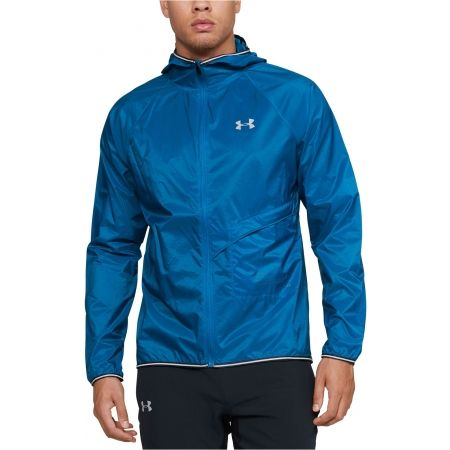 Pánska bunda - Under Armour QUALIFIER STORM PACKABLE JACKET - 1
