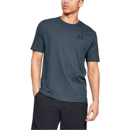 Under Armour SPORTSTYLE LEFT CHEST SS - Herren Laufshirt