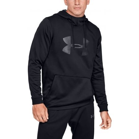 Under Armour AF PO HOODIE BIG LOGO GRAPHIC - Мъжки суитшърт