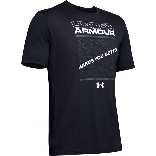 Under Armour MAKES YOU BETTER černá L - Pánské tričko