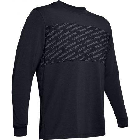 Under Armour UNSTOPPABLE WORDMARK LS - Pánske tričko s dlhým rukávom