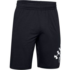 Under Armour SPORTSTYLE COTTON WORDMARK LOGO SHORT - Spodenki męskie