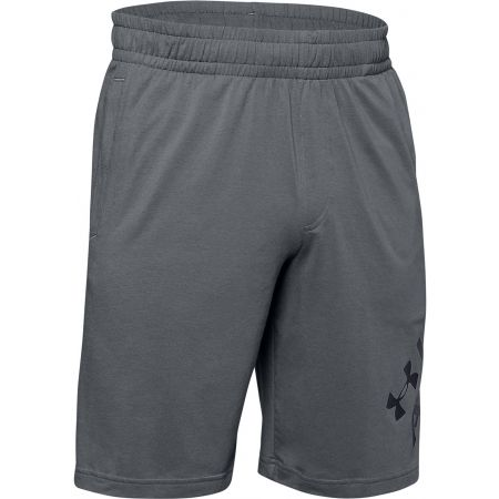 Pánské kraťasy - Under Armour SPORTSTYLE COTTON WORDMARK LOGO SHORT - 1